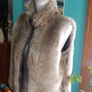 Elle Jackets & Coats - Faux fur vest